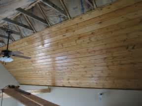 Tongue And Groove Ceiling Boards It S Fairly Common For Tongue And Groove Boards To Be