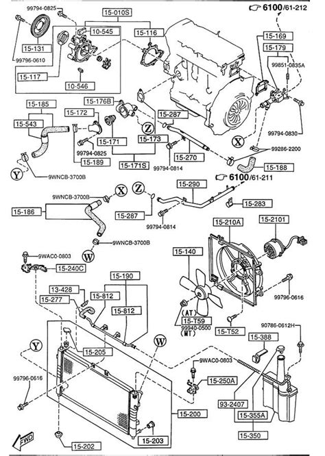 mazda mpv 2001 engine diagram mazda mpv 2001 engine diagram automotive parts diagram
