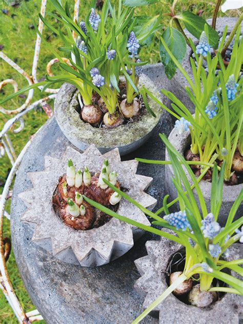 homemade planters diy concrete planter project outdoortheme com