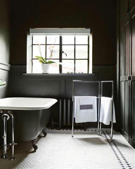 badezimmer schwarz und weiß badezimmer design schwarz