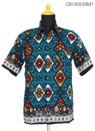 Baju Kaos Barong Bali Atasan kemeja batik motif barong bali kemeja lengan pendek