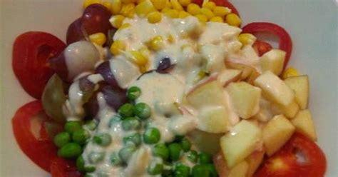 Tah Buah Dan Sayur L aneka resep masakan resep salad buah dan sayur sehat segar