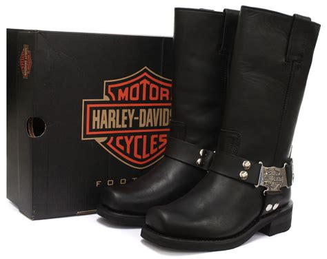 Who Makes Harley Davidson Boots by New Harley Davidson Iroquois Womens Biker Boots All Sizes