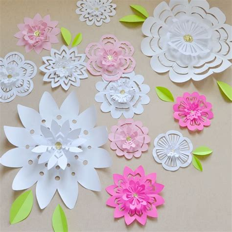 paper snowflake flower tutorial studio 5 flake flowers paper snowflakes flakes and flower