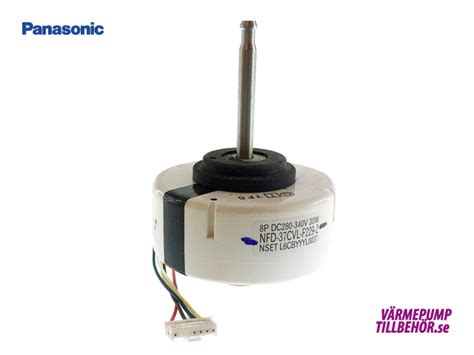 l6cbyyyl0011 fan motor for panasonic air to air heat