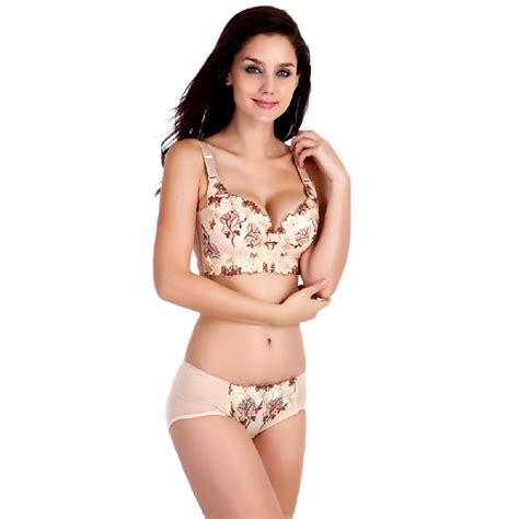 Push Up Bra Or Bra Set New Model Import Eos 020 Size Cek Deskrips luxury new v new brand big size push up bra set floral embroidery lace