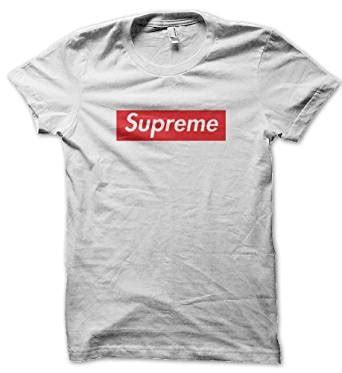 supreme uk clothing supreme herren white tshirt xx large de bekleidung