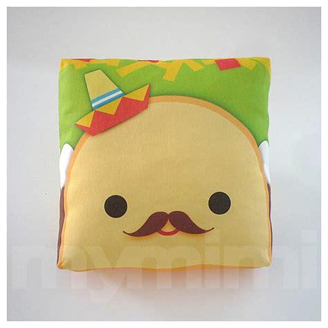decorative pillow taco pillow sombrero pillow mexican food