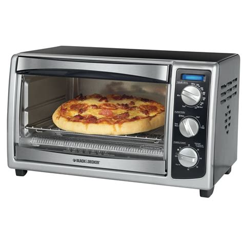 Toaster Oven With Slice Toaster Black Decker To1675b 6 Slice Toaster Oven Black Black