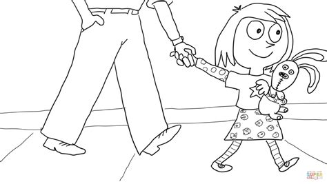 mo willems coloring pages knuffle bunny knuffle bunny too coloring online super coloring