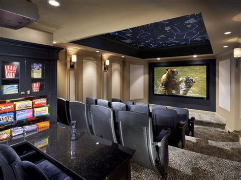 Home Theater System Design Tips by Inspiring Luxury Home Theater Design From Cedia