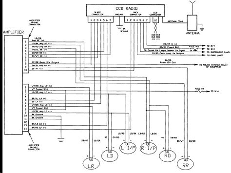 jeep grand radio wiring diagram