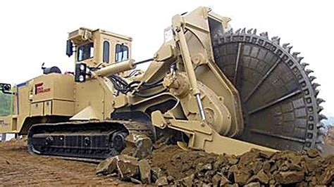 world s largest trencher this scary machine eats away huge rocks for dinner
