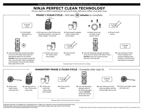 clean light on ninja coffee bar ninja coffee bar 174 single serve system cf110 ninja 174
