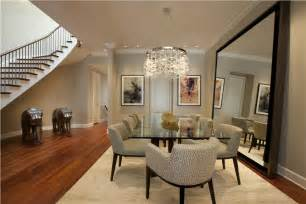 classic contemporary dining room by michael abrams