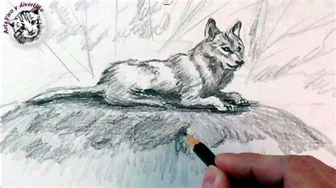 animales a lapiz youtube como dibujar un lobo a lapiz paso a paso como dibujar
