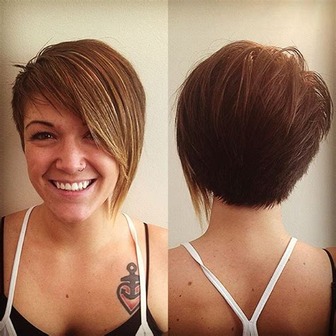 best pixie cuts 2015 front and back of pixie cuts nice back view of asymmetrical pixie haircut