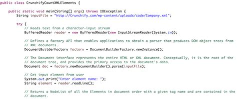 tutorial xml java simple way to count number of xml elements in java crunchify