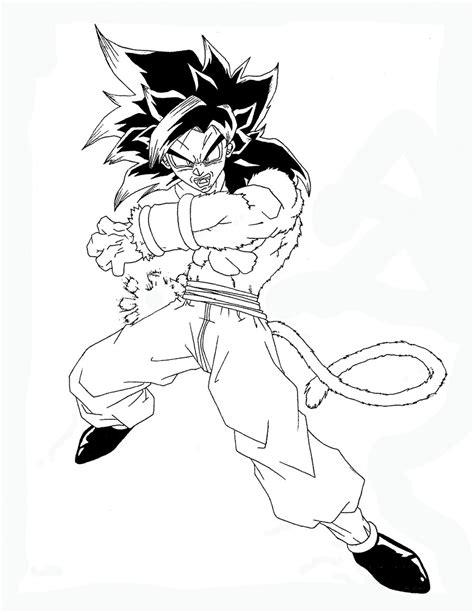 Super Saiyan 4 Son Goku By Loveless829 On Deviantart