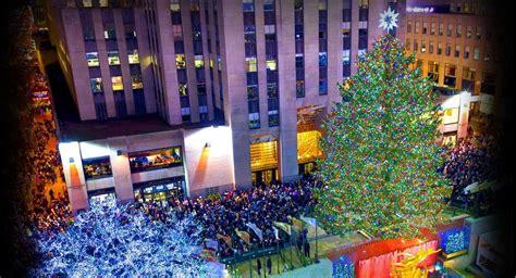 rockefeller center tree lighting new york by rail