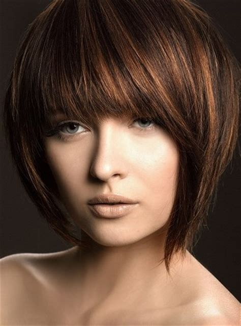 womens angle bob cuts short angled bob hairstyles with bangs for black women
