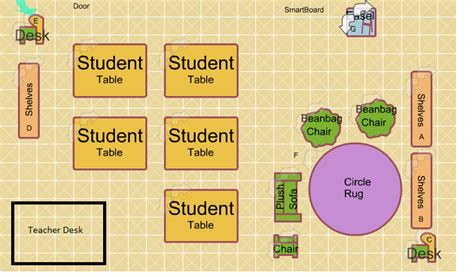 design a classroom floor plan msl senior methods 2012 2013 my classroom floorplan
