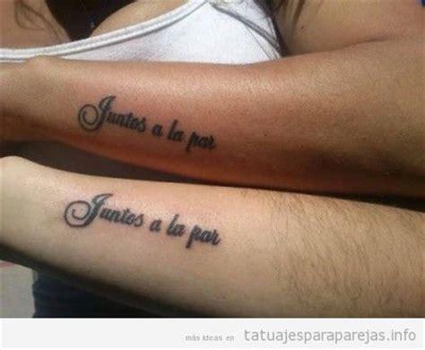 imagenes de tatuajes para un amor imposible tatuajes para parejas 2016 frases en espa 241 ol