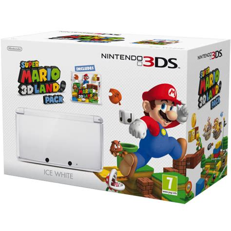 Nintendo 3ds Xl Mario 3d Land Original N3ds nintendo 3ds white mario 3d land bundle nintendo uk store