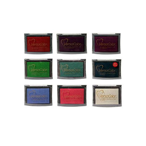 coloured ink pads for rubber sts ink pads by noolibird rubber sts notonthehighstreet
