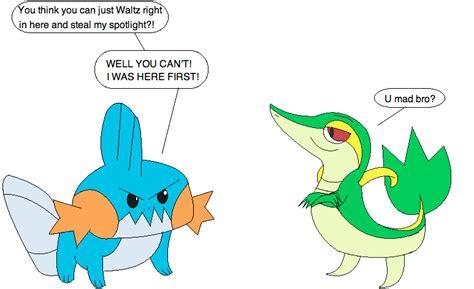 Mudkip Meme - mudkip vs smugleaf by loneclone on deviantart