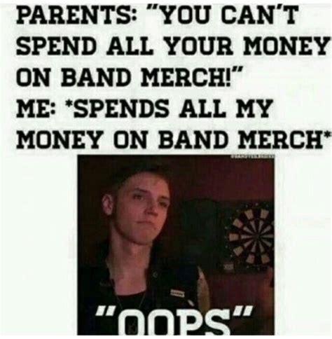 Emo Band Memes - band merch on tumblr