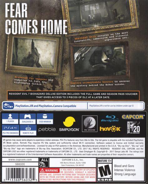 casing hp hp resident evil 7 gamespace11box gamerankings