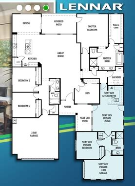 lennar nextgen homes floor plans floorplan