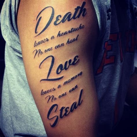 tattoo quotes sleeve 10 love quote tattoos for men images and pictures