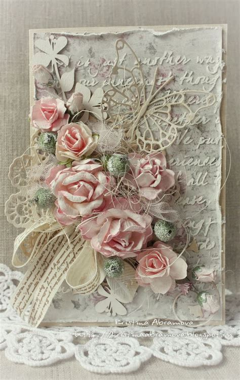 Handmade Vintage Cards - 25 best ideas about vintage handmade cards on