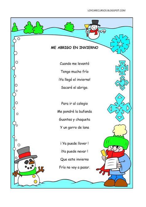 poemas infantil 17 best images about lenguaje oral on pinterest kids