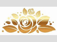 Golden Flower Vector Png Loading