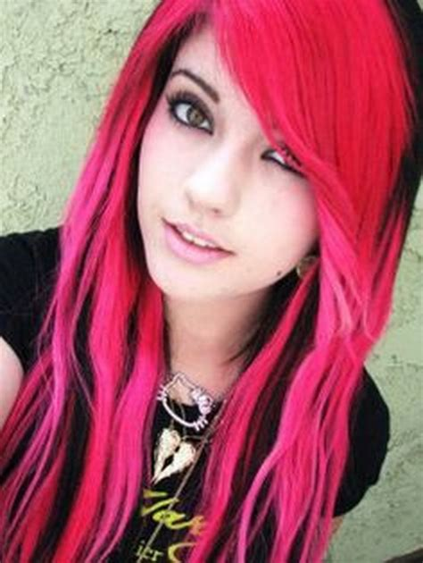 Pink And Black Hairstyles by Black And Pink Hairstyles