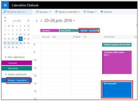 Calendrier Outlook Partager Des Agendas Entre Outlook Et Gmail Je Me Forme