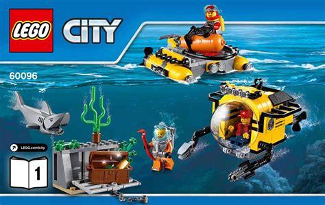 lego boat deep sea 60096 lego deep sea operation base city deep sea explorers