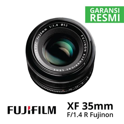 jual lensa fujifilm xf 35mm f1 4 r fujinon harga murah