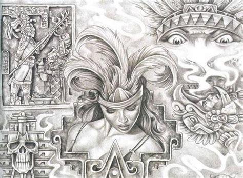 Aztec Drawings
