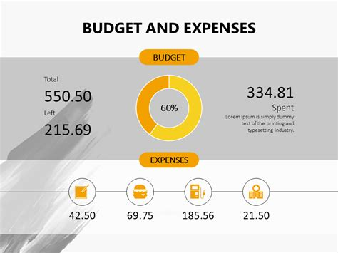budget presentation templates budget and expenses powerpoint slide presentationdesign