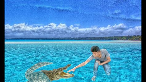 picsart animation tutorial picsart editing tutorial sea crocodile photo