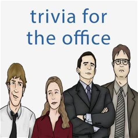 The Office Trivia by Trivia Quiz The Office Edition Trivia