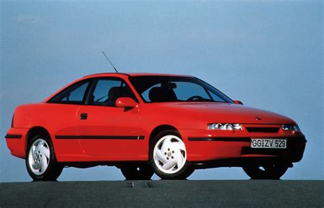 Remembering Opel S Calibra Coupe As It Turns 25 Years Old