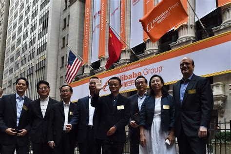 alibaba nyse alibaba kicks off its ipo on the new york stock exchange