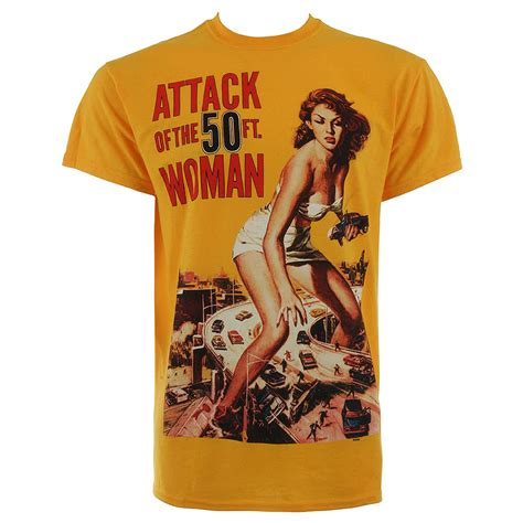 Tshirt Attack The Pack retro t shirt attack of the 50ft tshirt