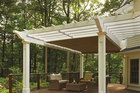 Pergola With Retractable Awning by Retractable Pergola Canopy In Morris Plains Shadefx Canopies