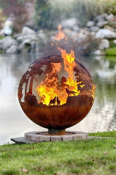 feuerstellen im wald feuerstelle designs die sie einfach faszinieren